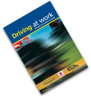 Defensive Driver Training - image HSE Publication Driving at Work - Managing Work Related Road Safety